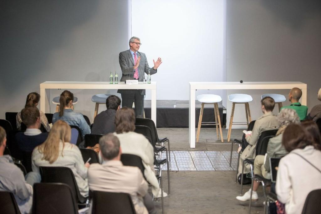 Dr. Bernhard Felmberg auf der Ethical Fashion Show © Thomas Lohnes