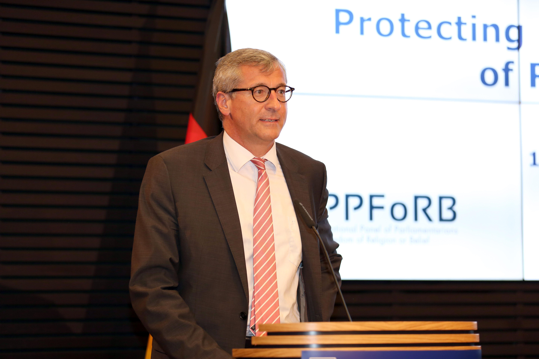 Ministerialdirigent Dr. Bernhard Felmberg bei der Konrad-Adenauer-Stiftung Berlin