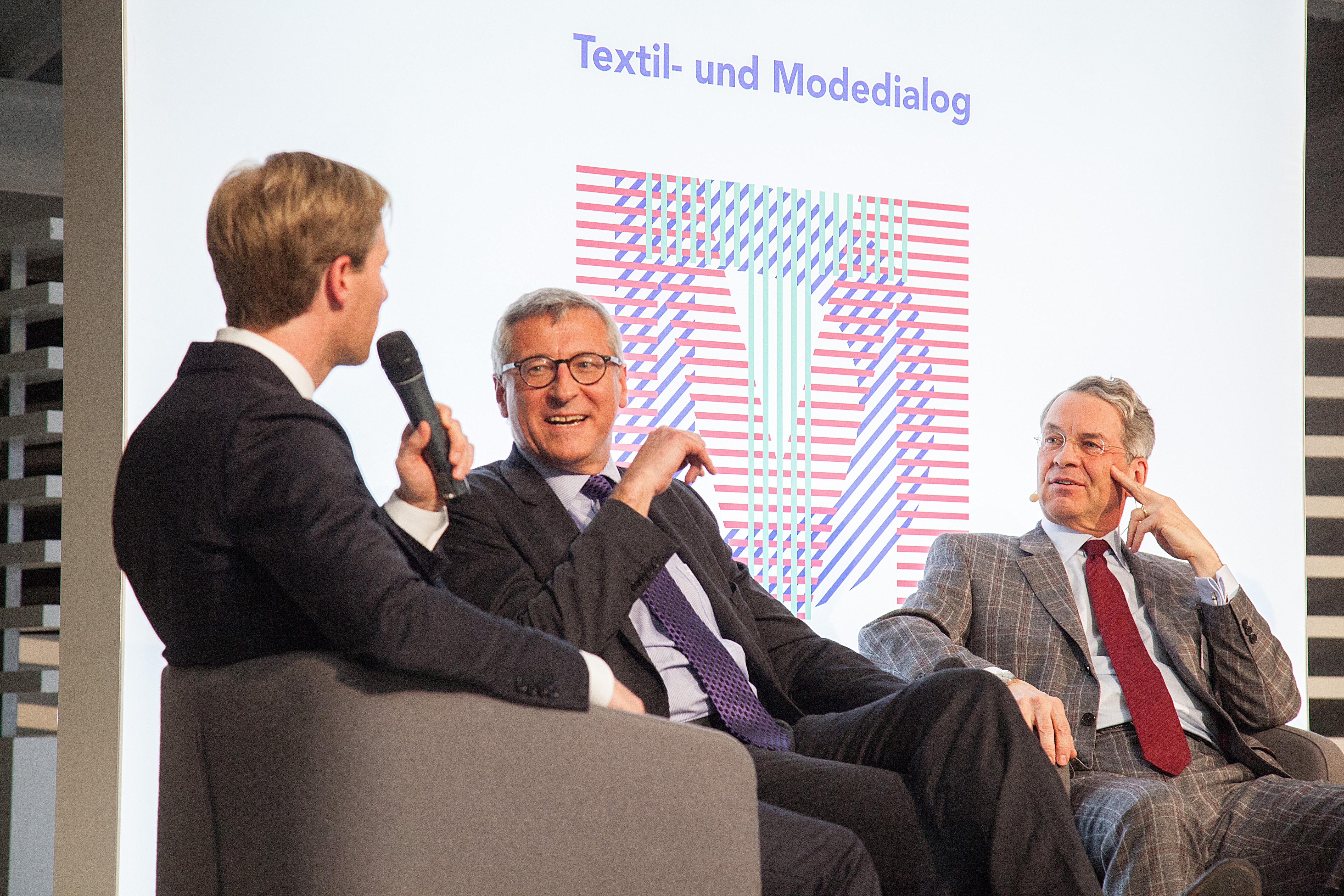 Textil und Mode - PolitFashionShow am 17. Januar 2018, in Berlin ©VERBAND DER BAYERISCHEN TEXTIL- UND BEKLEIDUNGSINDUSTRIE E. V.